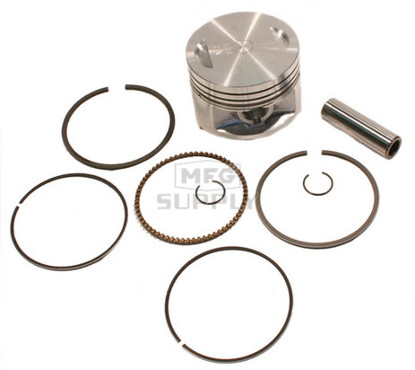 "50-222-07 - ATV .040"" (1.0 mm) Piston Kit For 83-87 Honda ATC200X; 86-88 TRX200SX"