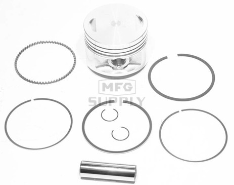 "50-222-05 - ATV .020"" (.5 mm) Piston Kit For 83-87 Honda ATC200X; 86-88 TRX200SX"