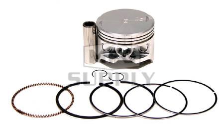 """50-223-04 - ATV .010"""" (.25 mm) Piston Kit For '88-00 Honda TRX 300/FW"""