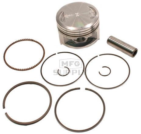 "50-250-07 - ATV .040"" (1 mm) Piston Kit For '88-01 Kawasaki KLF 220"