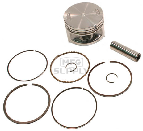 "50-255-05 - ATV .020"" (.5 mm) Piston Kit for many 85-01 Kawasaki 300cc models."