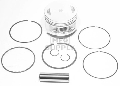 50-255 - ATV Std Piston Kit for many 85-01 Kawasaki 300 cc models.