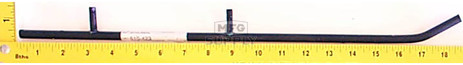 510-423 - Ski-Doo Wearbar. Fits 88-89 Escapade (long), 88 Stratos (outer), 89 Voyager (long) (Sold each.)