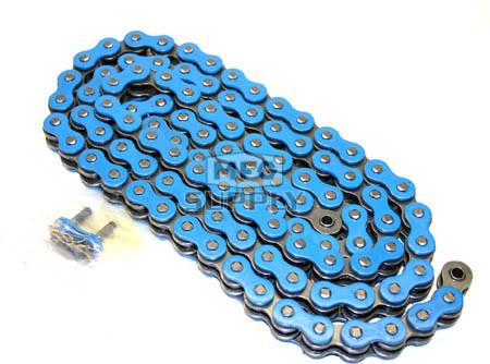 520BL-ORING-114 - Blue 520 O-Ring ATV Chain. 114 pins