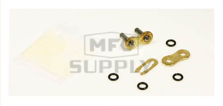 520GO-CL - Gold 520 O-Ring ATV Connecting Link