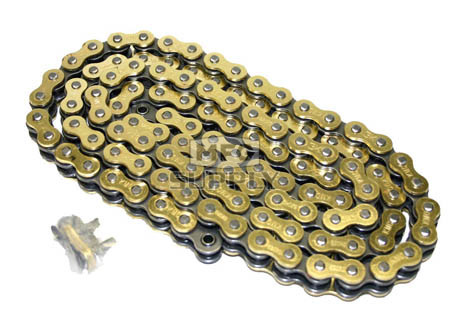 520GO-ORING-90-W1 - Gold 520 O-Ring Motorcycle Chain. 90 pins