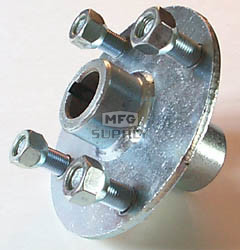 "53-681 - Steel Hub for 1"" live axle. No step"