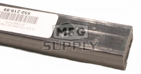 "550-219-99 - Polaris Slide Graphite (sold each). Edge RMK/SKS, 136"" to 159"" track."