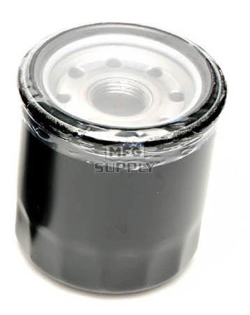 FS-708 - Black Spin-On Oil Filter for Polaris ATVs