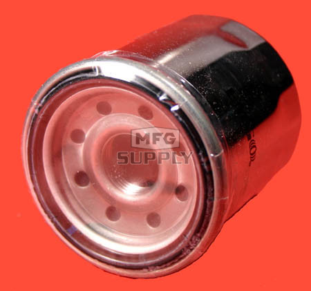 20-006-1 - Chrome Spin-On Oil Filter for Polaris ATVs