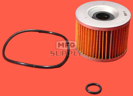 5703-0597 - Oil Filter Element for Honda & Kawasaki Motorcycles.