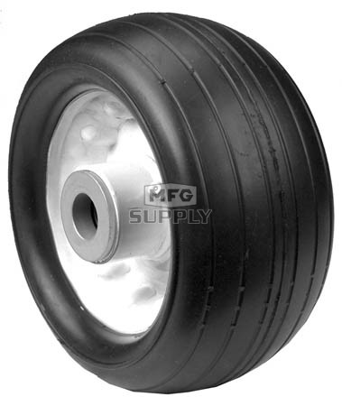 "6-11956 - 6.25"" X 3"" Toro 63-8400 Deck Wheel with 3/4"" ID Bore (Rib Tread)"