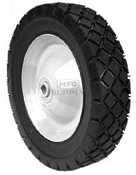 "6-9612 - 10"" X 1.75"" Snapper 46678 Steel Wheel with 7/16"" ID Ball Bearing (Diamond Tread)"