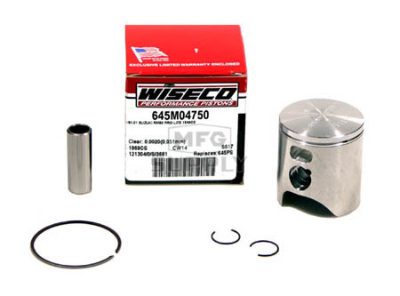 645M04750 - Wiseco Suzuki RM80 Std Piston Assembly