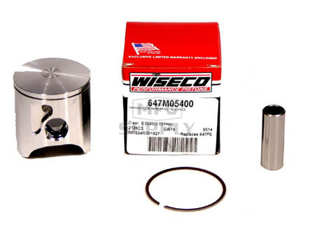 647M05400 - Wiseco Yamaha YZ125 Std Piston Assembly