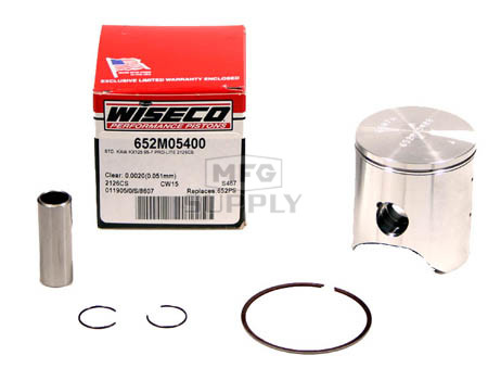 652M05400 - Wiseco Kawasaki KX125 Std Piston Assembly