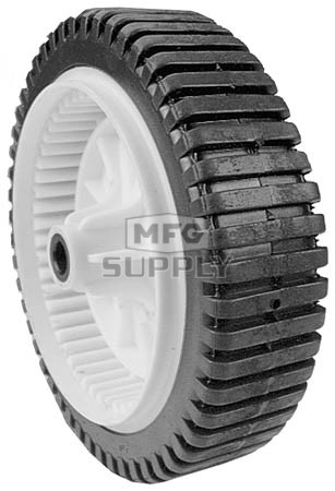 "7-10758 - 8"" X 2"" AYP 700953 Drive Wheel with 1/2"" ID Bore (Lug Gear Tread)"