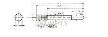 725-602 - Yamaha Puller