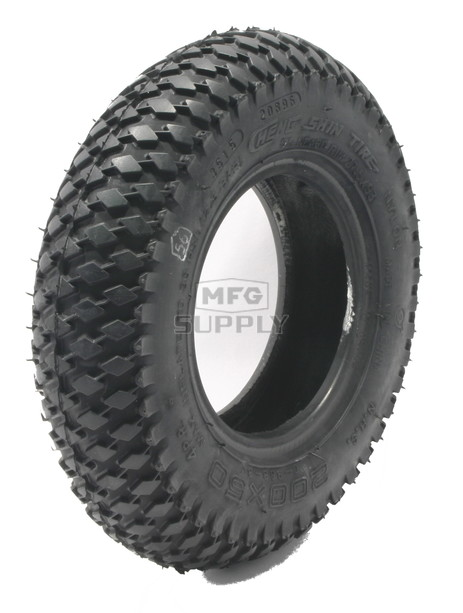 8-10428 - 200 x 50 Knobby Tread Tire.