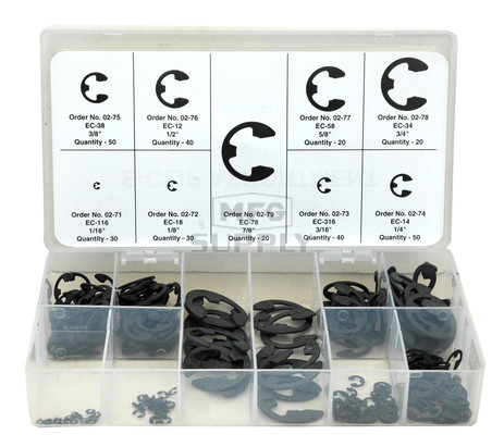 1-8 - E-Clip Assortment