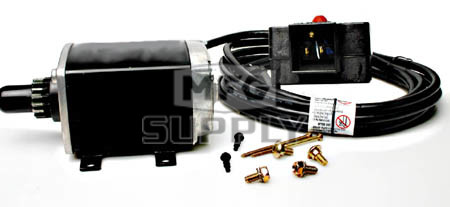STC0016 - 120V Starter Replaces Tecumseh 33329E found on many newer models of snowblowers. Aftermarket version.