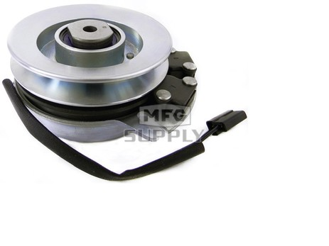 """Electric PTO Clutch, 1"""" ID, 3"""" Height, 5.375"""" CCW Pulley, 5/8"""" belt"""