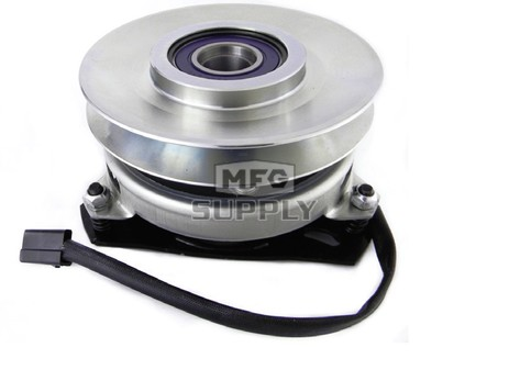 """Electric PTO Clutch. 1"""" ID, 6"""" pulley CCW, for 5/8"""" belt"""
