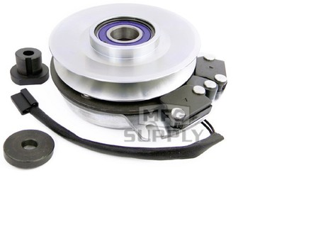 """Electric PTO Clutch, 1-1/8"""" ID, 6.313"""" CCW Pulley, 5/8"""" Belt"""