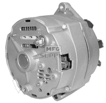 Adr0133 delco style alternator fits many farm industrial adr0133 publicscrutiny Images