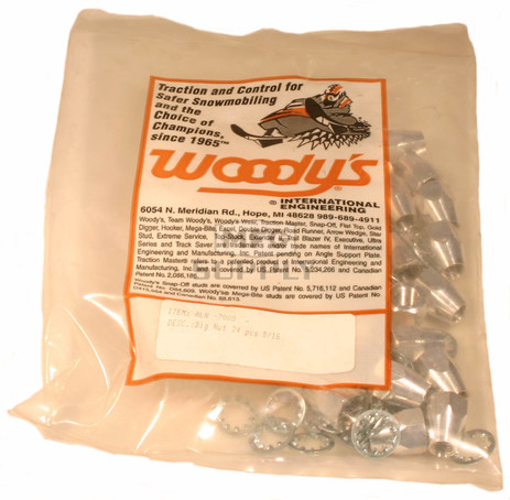 ALN-7000 - Woody's Aluminum Big Nut