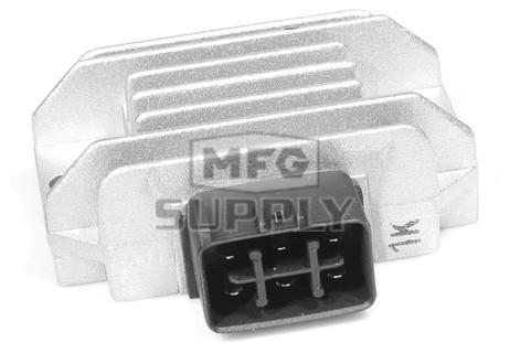 ASU6014 - Suzuki ATV Voltage Reg for 02-09 LTF250, 04-09 LTZ250, 03-08 LTZ400