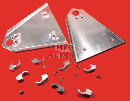 AT-04153 - Aluminum A-Arm Guard. Fits 87-92 Honda TRX250X & 93-04 TRX300EX.