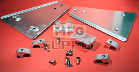 AT-04162 - Aluminum A-Arm Guard. Fits 87-03 Yamaha YFZ350 Banshee.