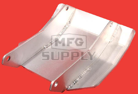AT-04201 - Polished Aluminum Ski Plate for Yamaha YFS200 Blaster