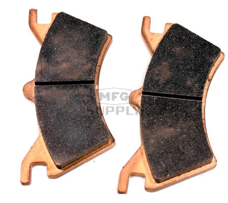 AT-05020F - Full Metal Rear Brake Pads for 00-05 Sportsman 6x6, 03 PVT