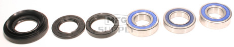25-1037 - Honda Rear Wheel Bearing Kit with Seals. 95-14 TRX350/400/450/500 ATVs