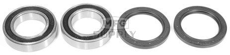 AT-06620-H3 - Suzuki Rear Wheel Bearing Kit with Seals. 85-08 QuadSport, QuadRacer, QuadRunner ATVs