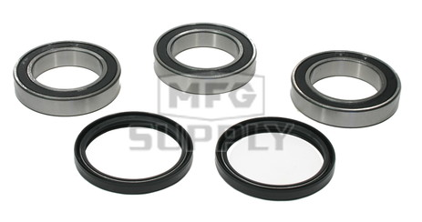 AT-06647 - Honda & Suzuki Rear Wheel Bearing Kit with Seals. TRX450 & LTZ400 ATVs