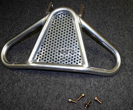 AT-12116 - Polished Aluminum Bumper for Kawasaki KFX400