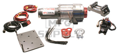 RU3500 - Runva Talon 3500 lbs ATV Winch