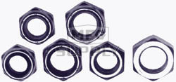 AZ8515 - 5/8-18 Thin Profile, Nylon Insert, Axle Nut
