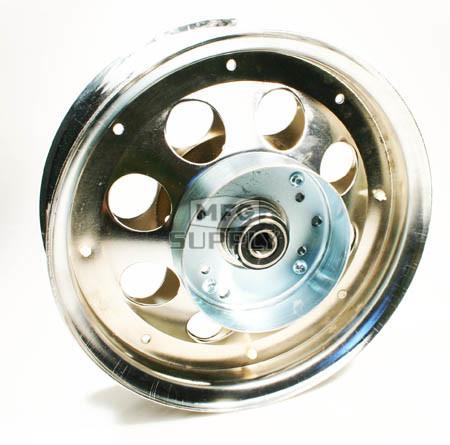 "AZ10152 - 10"" Steel Wheel With Riveted Brake Drum, 5/8"" Bearing"