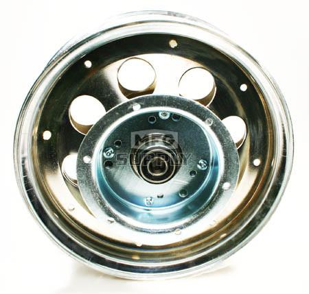 "AZ10153 - 10"" Steel Wheel With Riveted Brake Flanged Drum, 5/8"" Bearing"