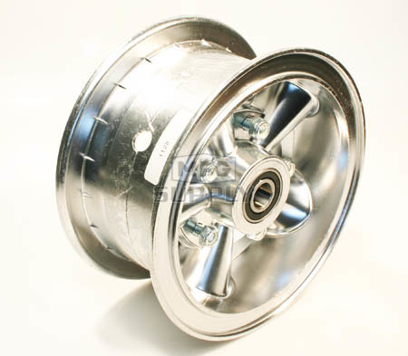 "AZ1128 - 6"" Astro Aluminum Wheel, 3"" wide, 5/8"" ID Bearing"