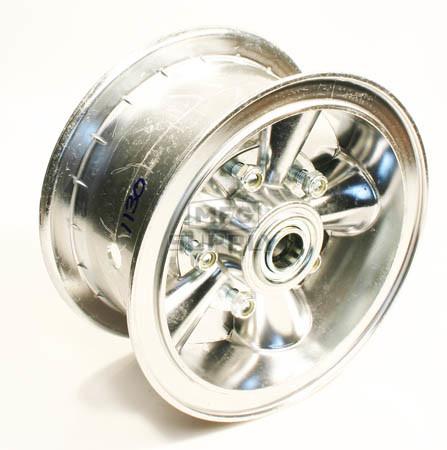 "AZ1130 - 6"" Astro Aluminum Wheel, 3"" wide, 3/4"" ID Bearing"