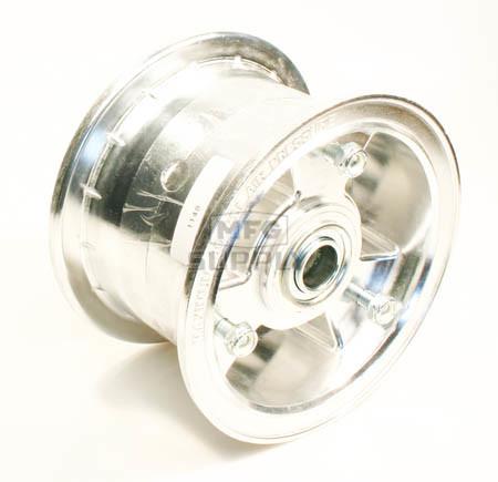 "AZ1148 - 5"" Aluminum Wheel, 3"" wide, 3/4"" ID Bearing"