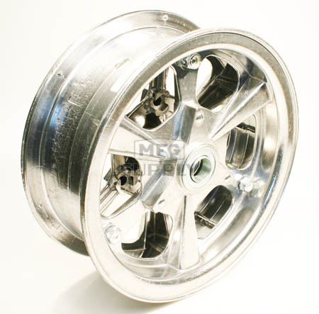 "AZ1177 - 8"" Spinner Aluminum Wheel, 3"" wide, 3/4"" Bearing"