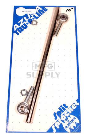 """AZ1849-100 - Tubular Tie Rod Kit 5/16-24 x 10"""" long"""