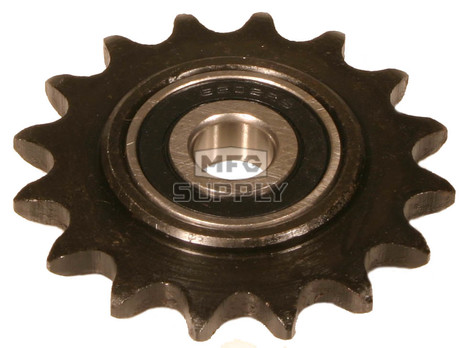 "AZ2187 - Heavy Duty Idler/Tensioner Sprockets-1/2"" Prec Ball Bearing. #40/41 Chain"