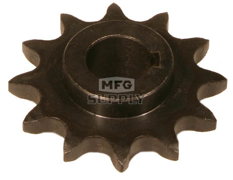 "AZ2199 - ""C"" Type Sprocket for #40/41 Chain, 12 Tooth, 5/8"" bore"